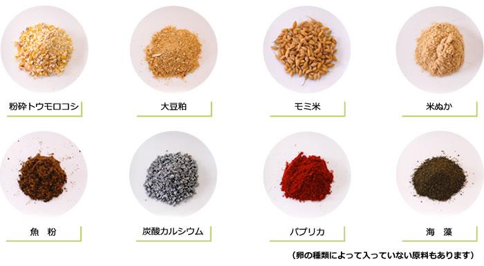 基本的な飼料原料